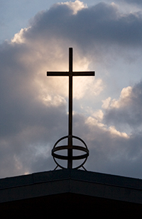 Rooftop Cross photo