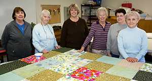 Photo of quilters